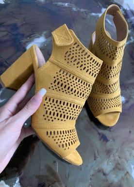 Maque sandal gul