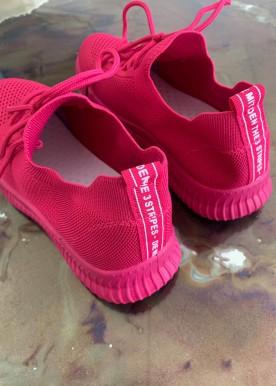 Juna sneakers fuxia
