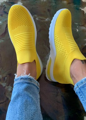 Lida sneakers gul