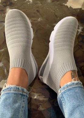 Divan sneakers grå