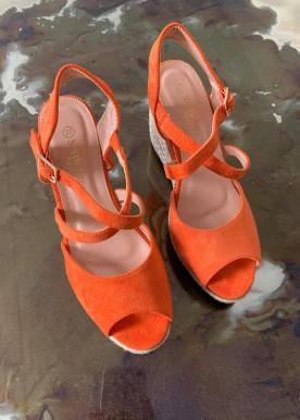 Kassie kilehæl orange