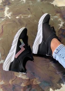 Kloe multi sneakers sort