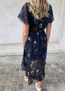 Anja flower dress marine