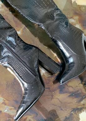 Roba boots black