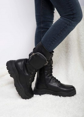 Wonda boot Black shine