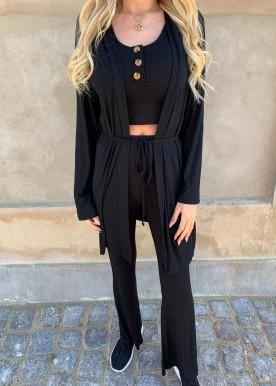 camela 3-piece black