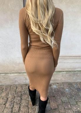 tanja sweat dress camel