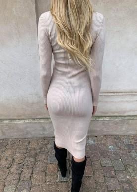 tanja sweat dress beige