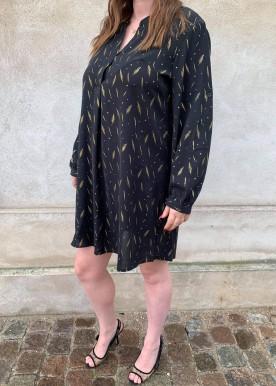 Tilla kjole Black