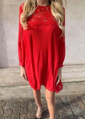 fanny kjole rød