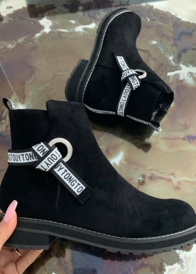 London boots black TH623