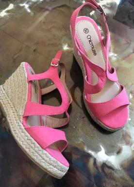 chia kilehæl pink